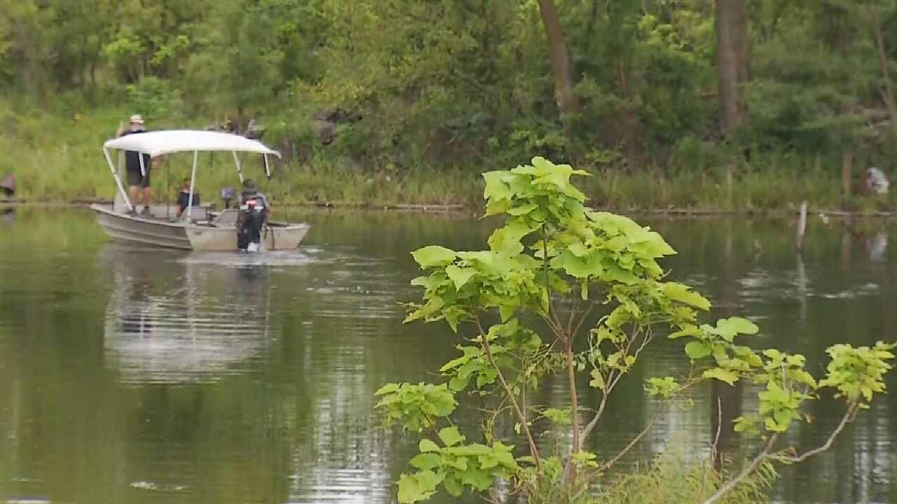 Detectives Search Pond Near Picher High School For Remains Of Welch Girls Kidnapped In 1999