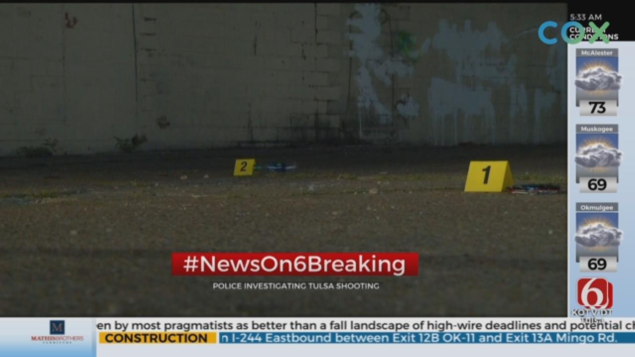 Man Robbed, Shot At Tulsa Motel