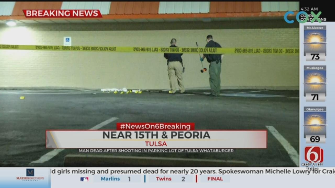 Tulsa Police: Man Dead After Shooting At A Fast Food Restaurant
