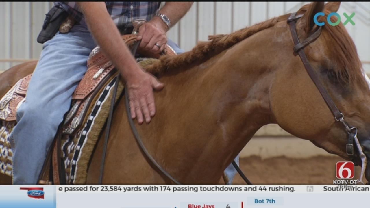 Cushing Horse Ranch Helps Veterans Combat PTSD