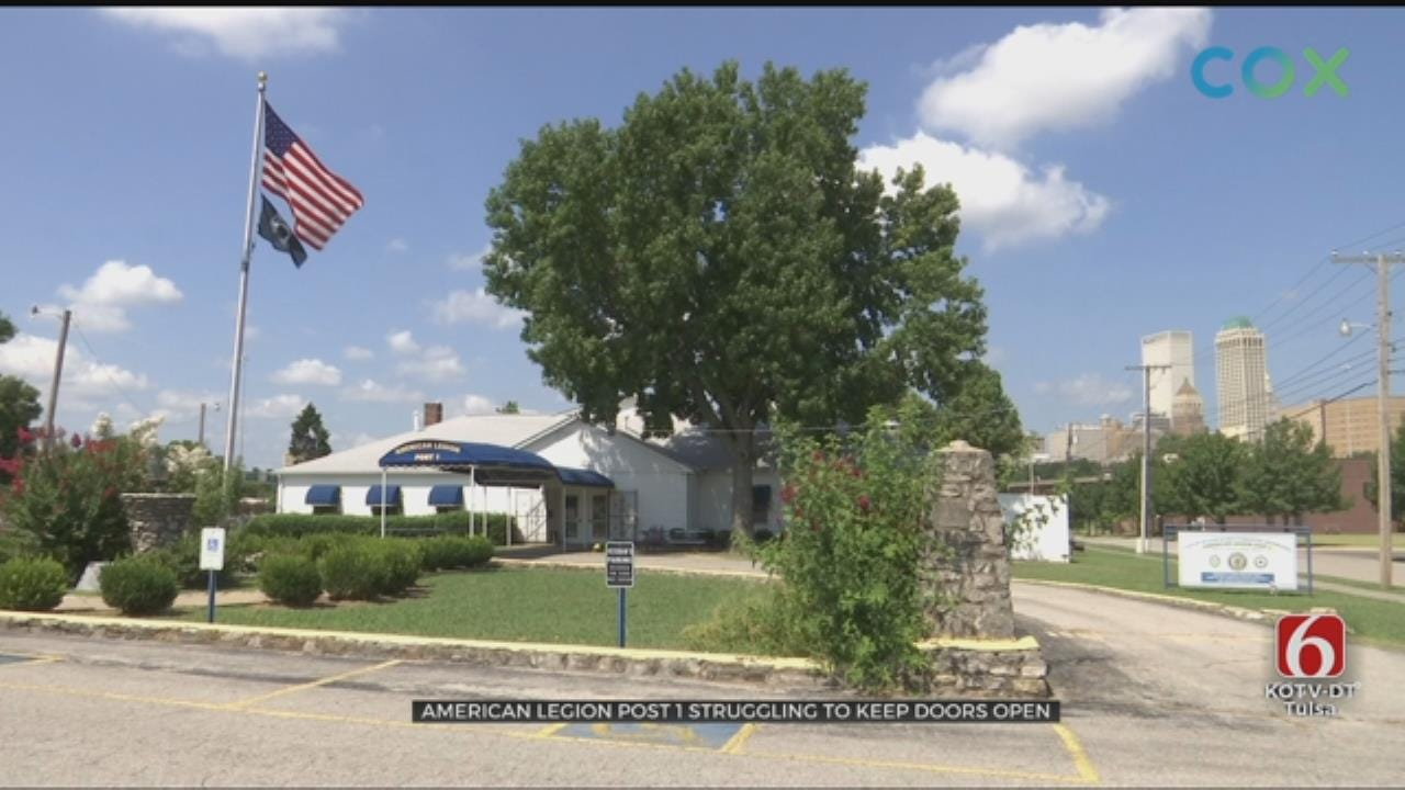 Tulsa's American Legion Post 1 In Need Of Donations