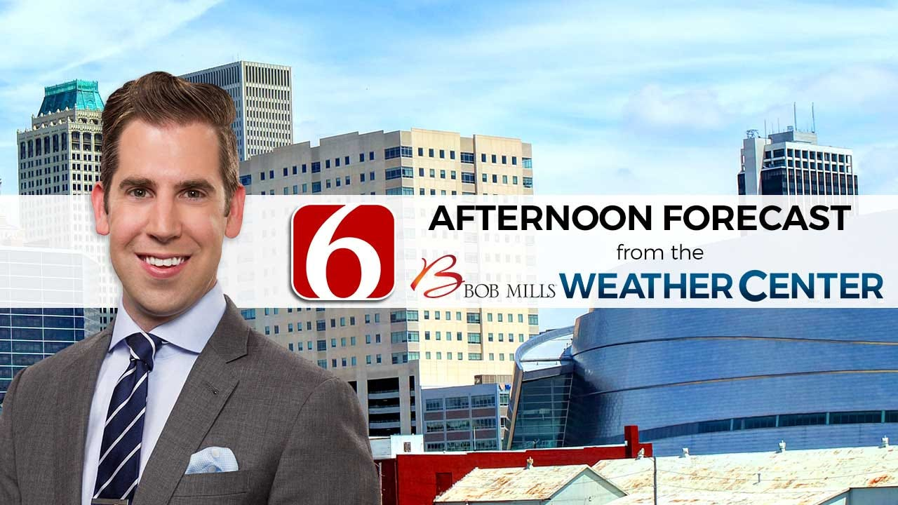 Monday Afternoon Forecast With Mike Grogan