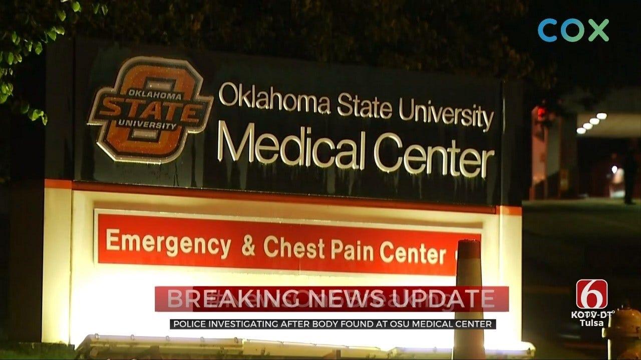 Woman's Body Found Outside Tulsa OSU Medical Center