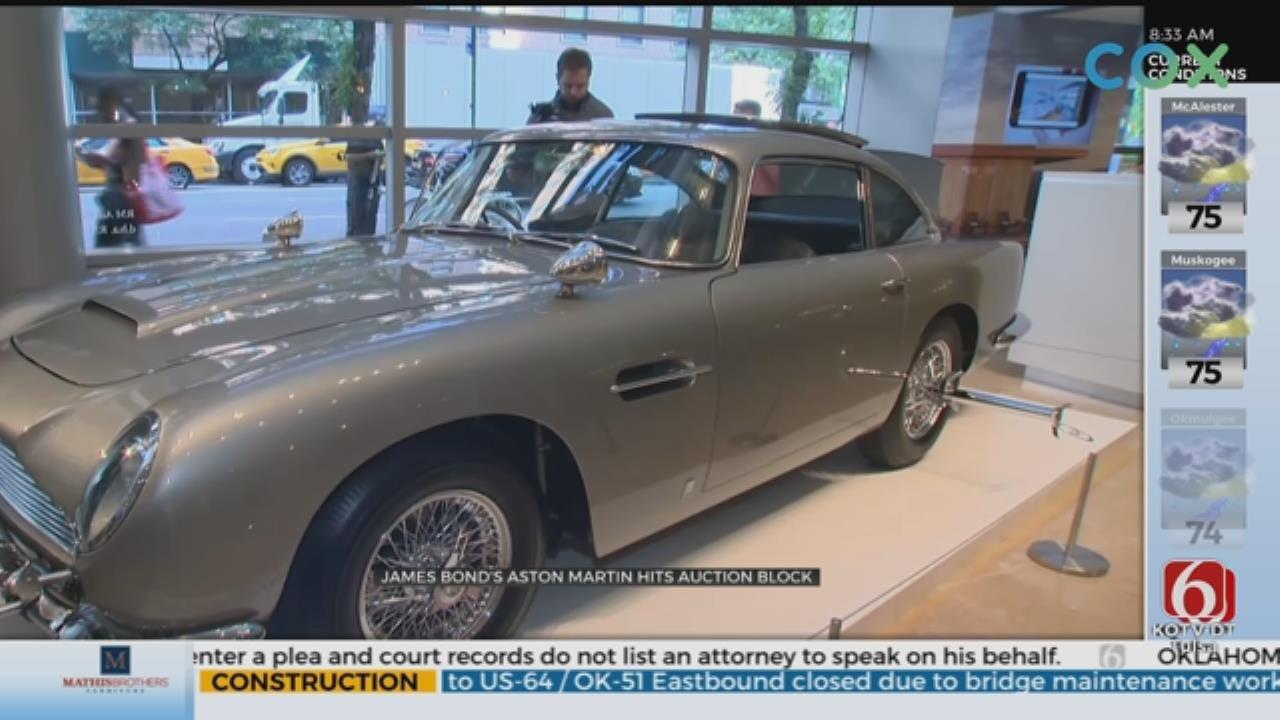 Rare James Bond Aston Martin Up For Sale
