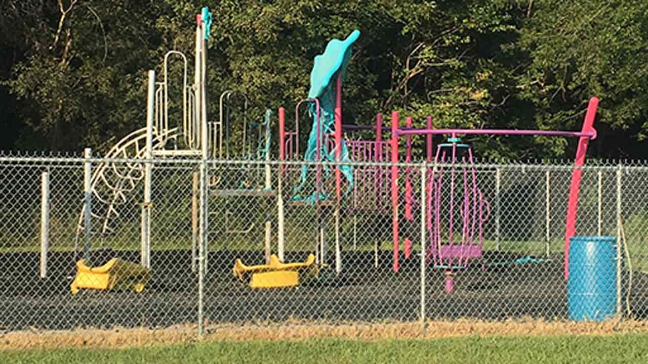 Tulsa Dream Center Playground Set On Fire, Police Investigating