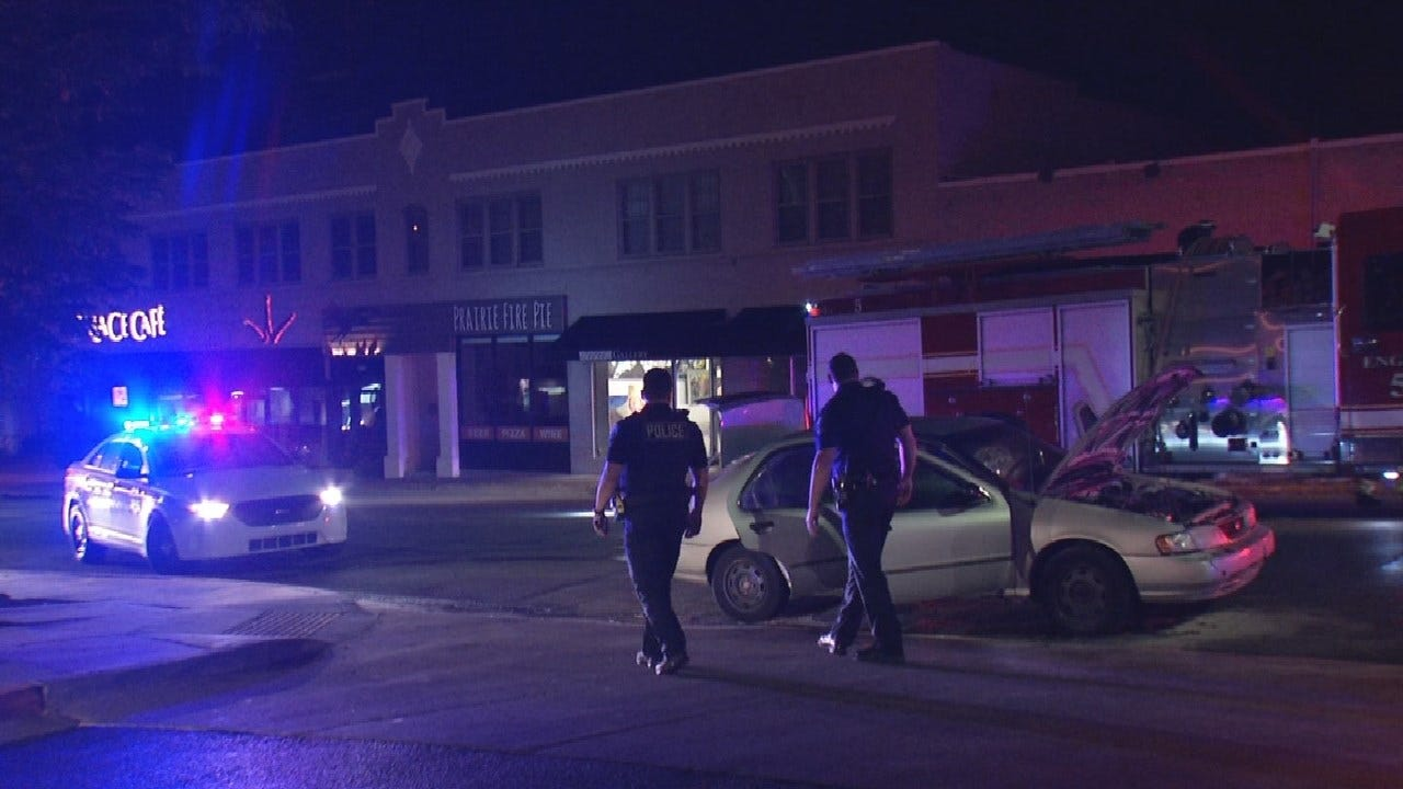 Tulsa Police Arrest Driver After Robbery And Chase