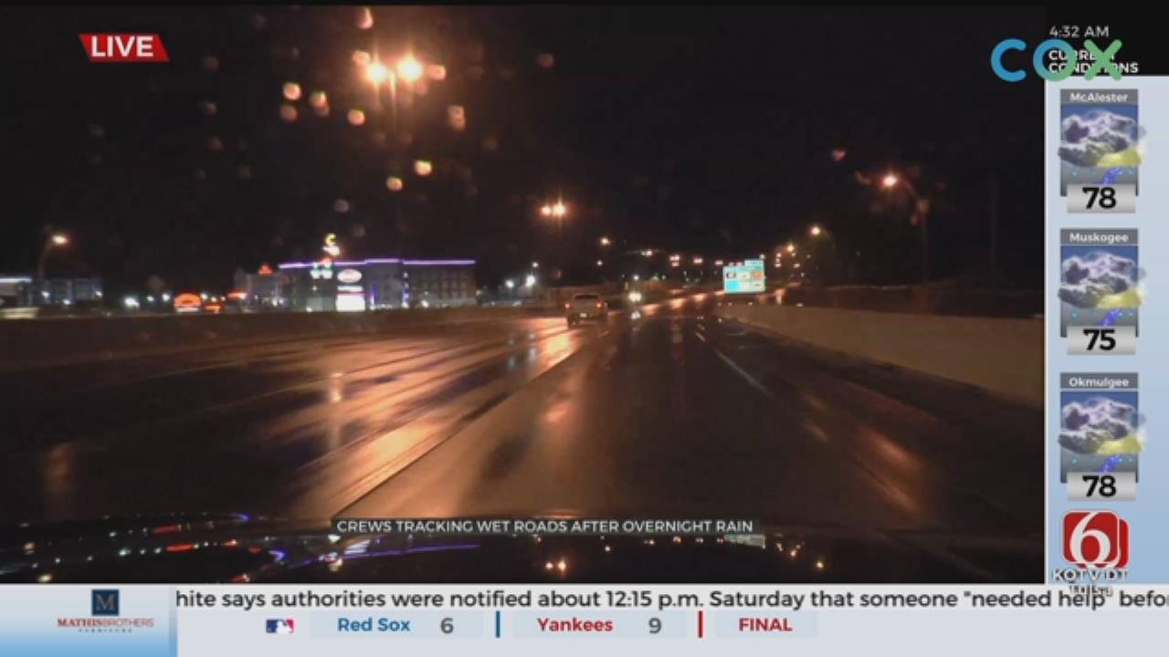 WATCH: Joseph Holloway Gives An Update On Early Morning Road Conditions