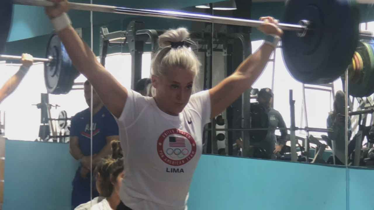 Oklahoma Weightlifter Sets Her Eyes On 2020 Olympics