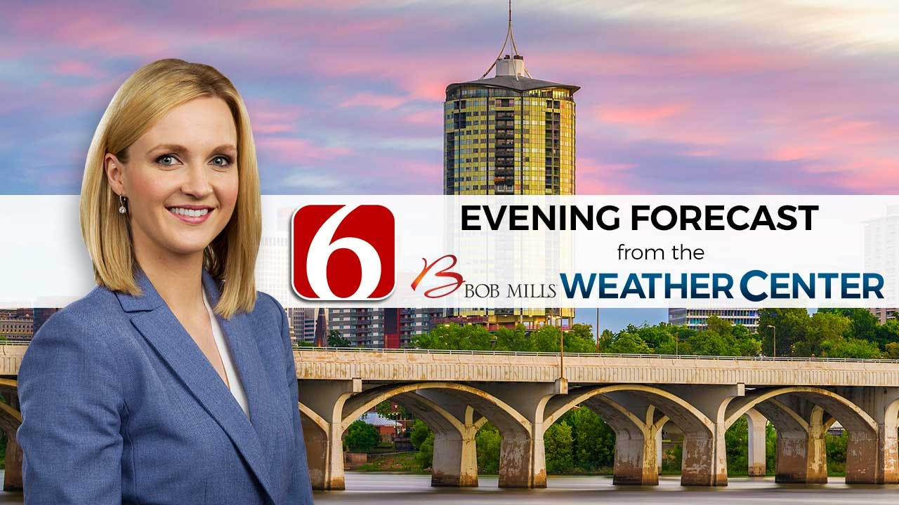 Saturday Evening Forecast With Stacia Knight