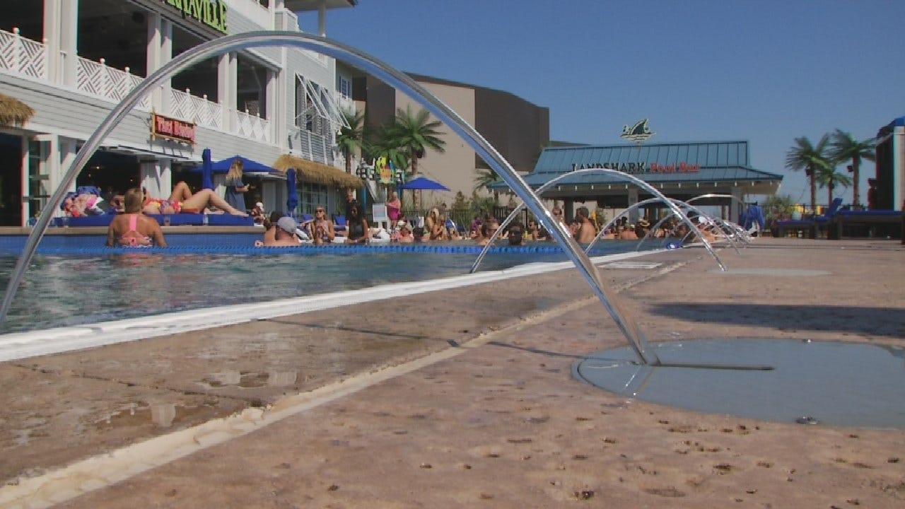 River Spirit Pool Officially Reopens After Flooding