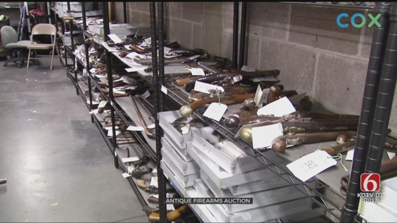 Claremore Museum Holding Gun Auction
