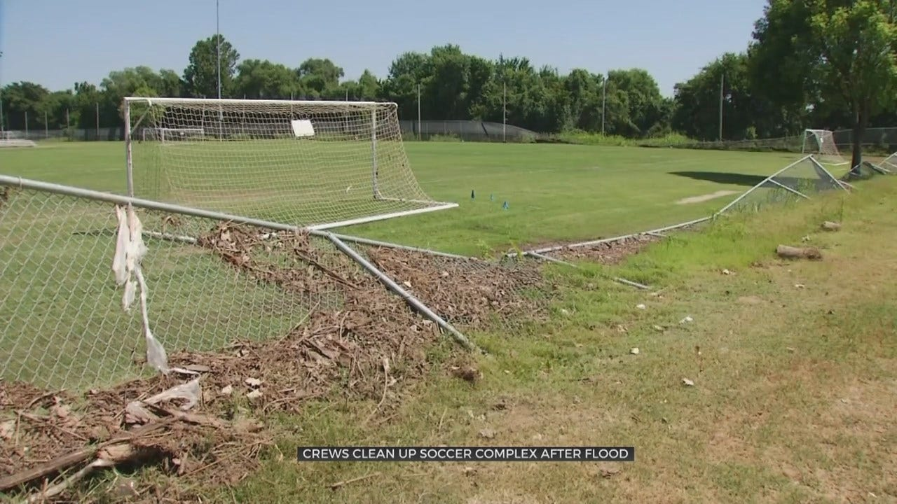 Indian Springs Soccer Complex Repairing After Flood Damage