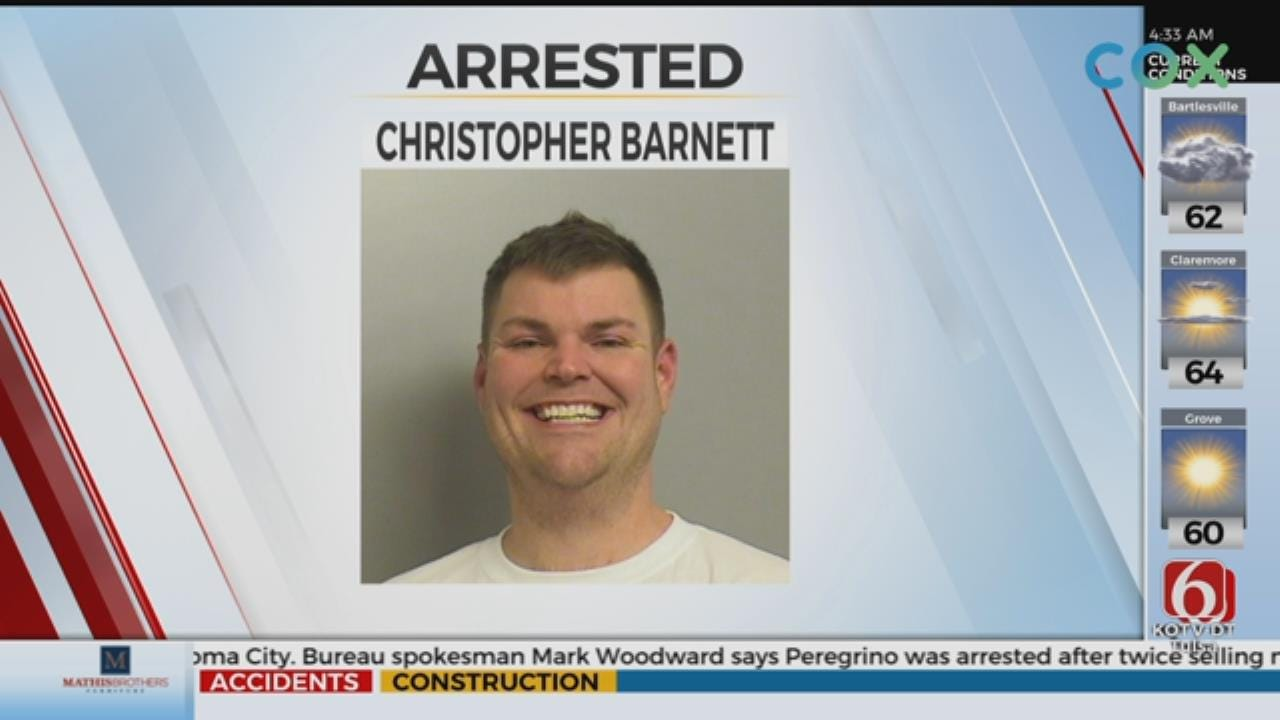 Tulsa Man Back In Jail After Bonding Out Thursday