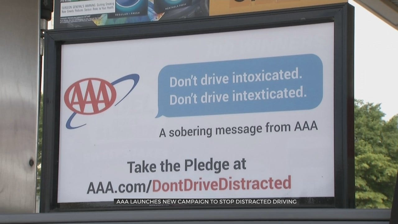 AAA Wants Oklahoma Drivers To Not Texting & Driving