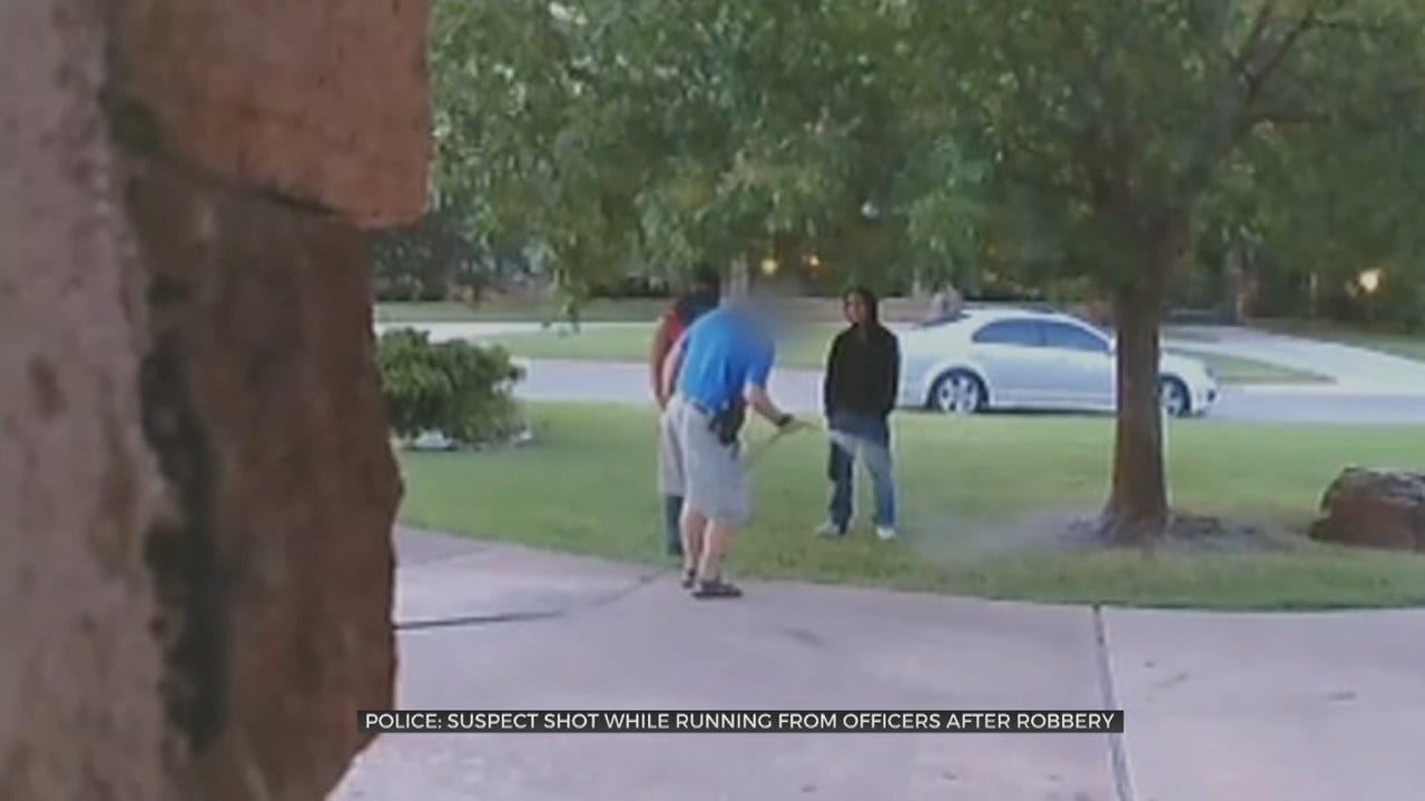 WATCH: Armed Tulsa Homeowner Confronts Robbery Suspects