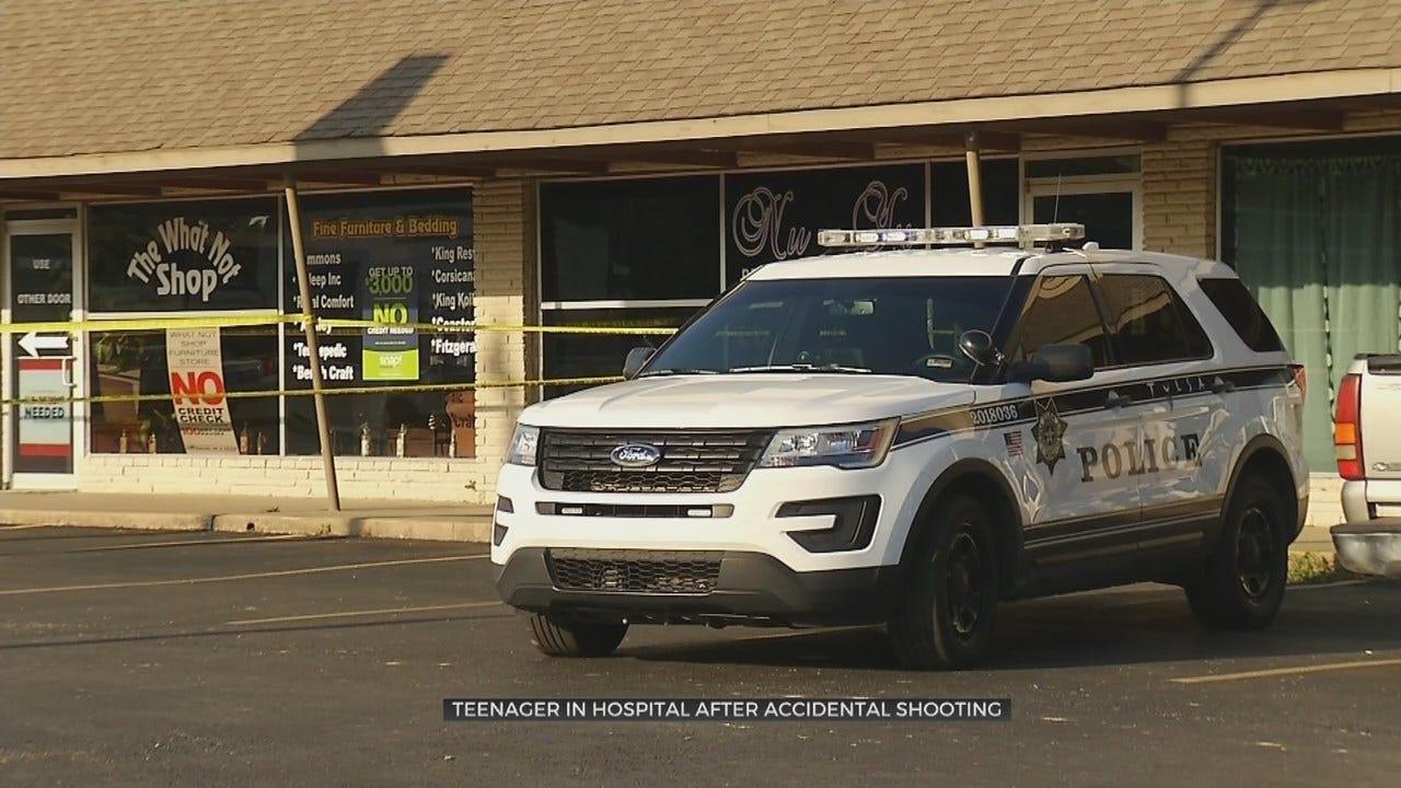 Tulsa Police: Teen Shot Himself Playing With Handgun