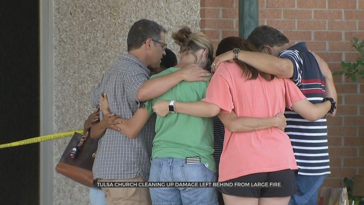 Tulsa Church Optimistic About Future After Fire