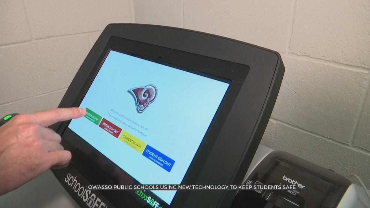 Owasso Public Schools Invests In New Visitor Security System