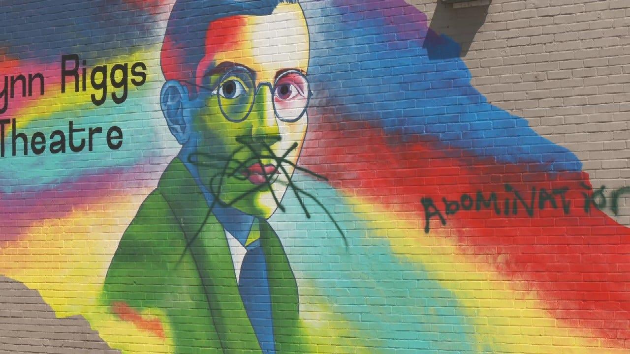 New Tulsa Equality Center Mural Vandalized