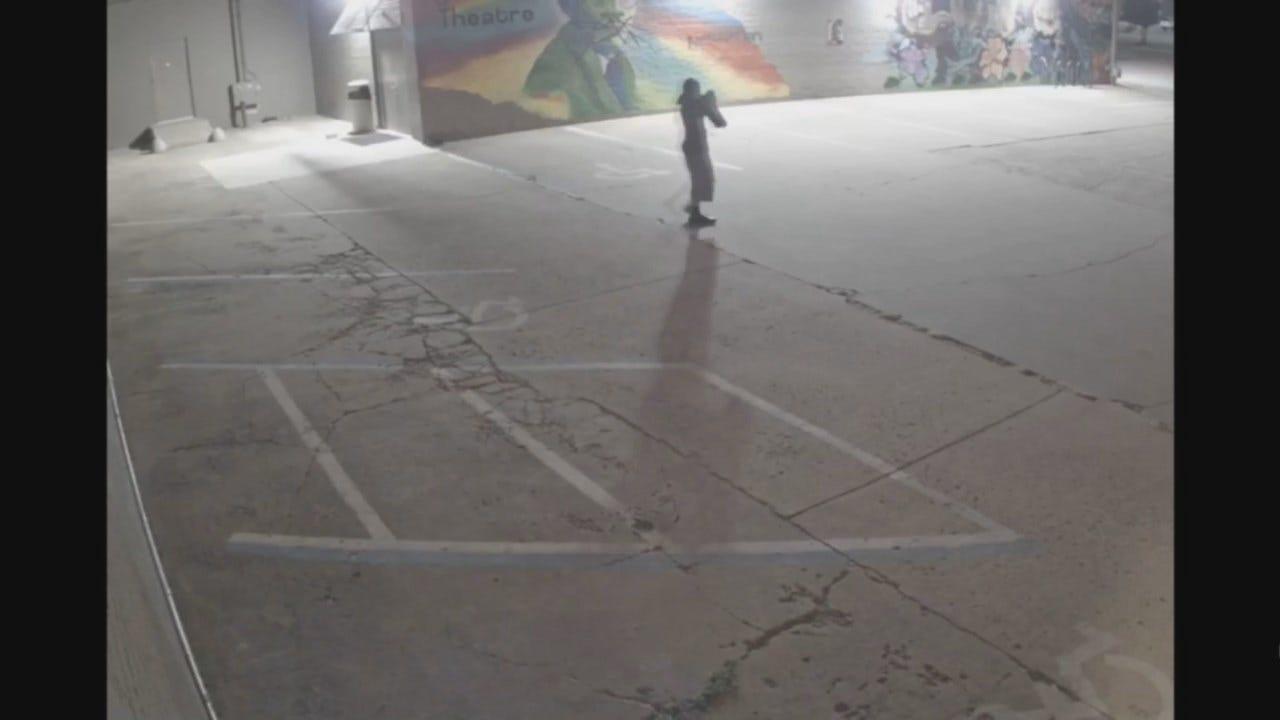 WATCH: Man Vandalizes Tulsa Equality Center Mural