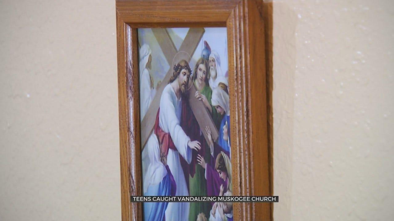 2 Teens Accused Of Vandalizing Muskogee Church