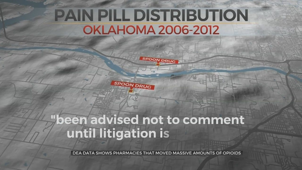 Oklahoma Pharmacies Distributed Millions Of Pain Medication In 6 Year Period