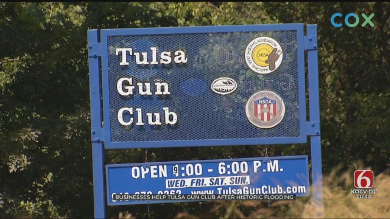 Businesses Help Tulsa Gun Club After Historic Flooding