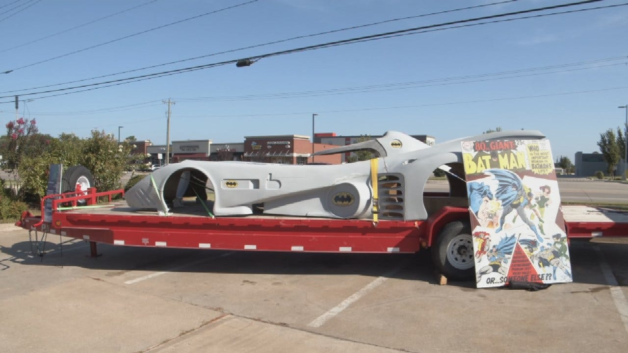 Business Leaders Build Working Batmobile For Tulsa Pop Kids