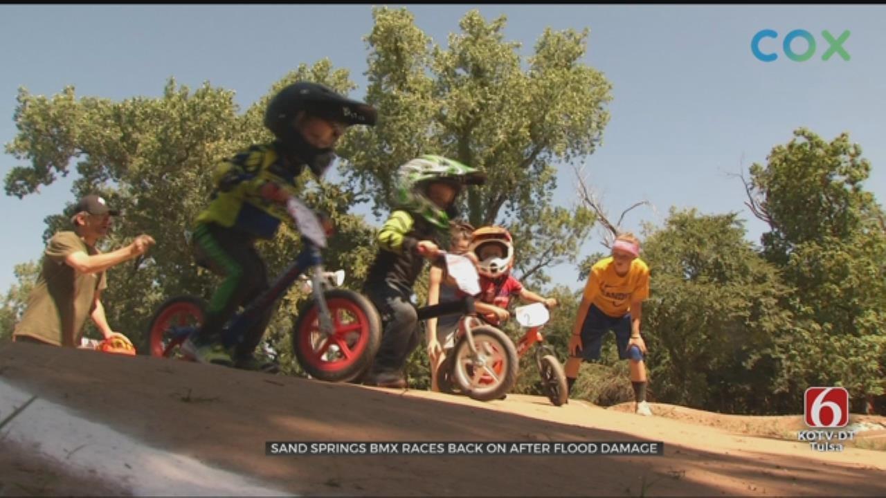 Sand Springs BMX Races Back On After Flood Damage