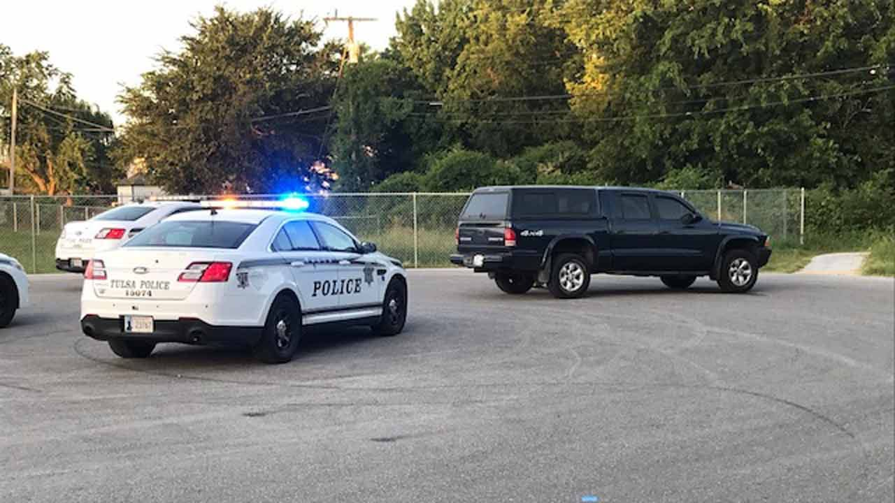 Tulsa Police Searching Suspect In Stolen Truck Chase