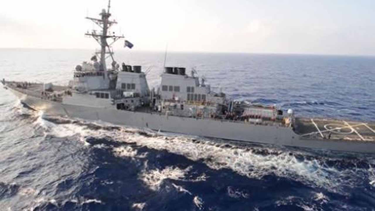 U.S. Warship Destroys Iranian Drone Over Strait Of Hormuz