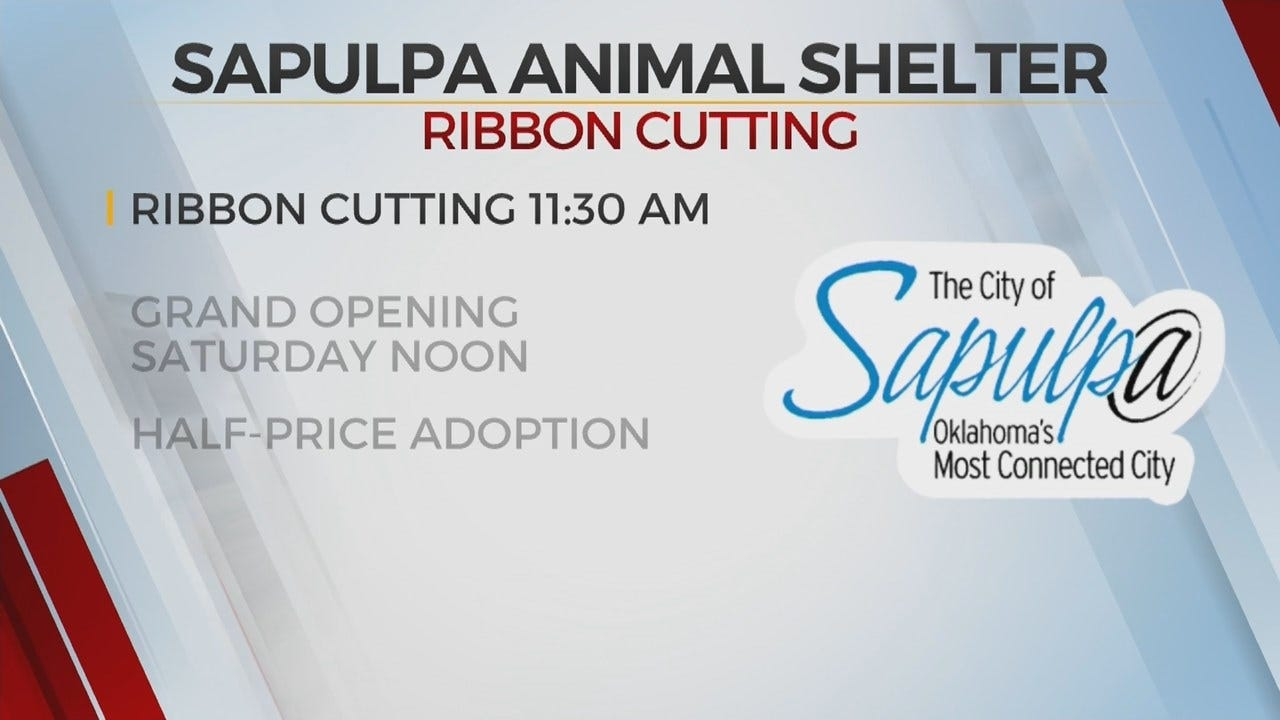 Sapulpa Holds Ribbon Cutting For New Animal Shelter