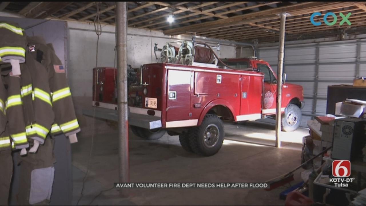 Avant Fire Department Struggling After Flood Damage