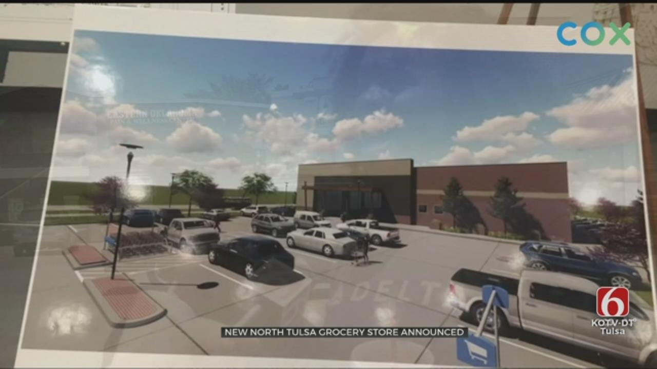 New Grocery Store To Be Built In North Tulsa