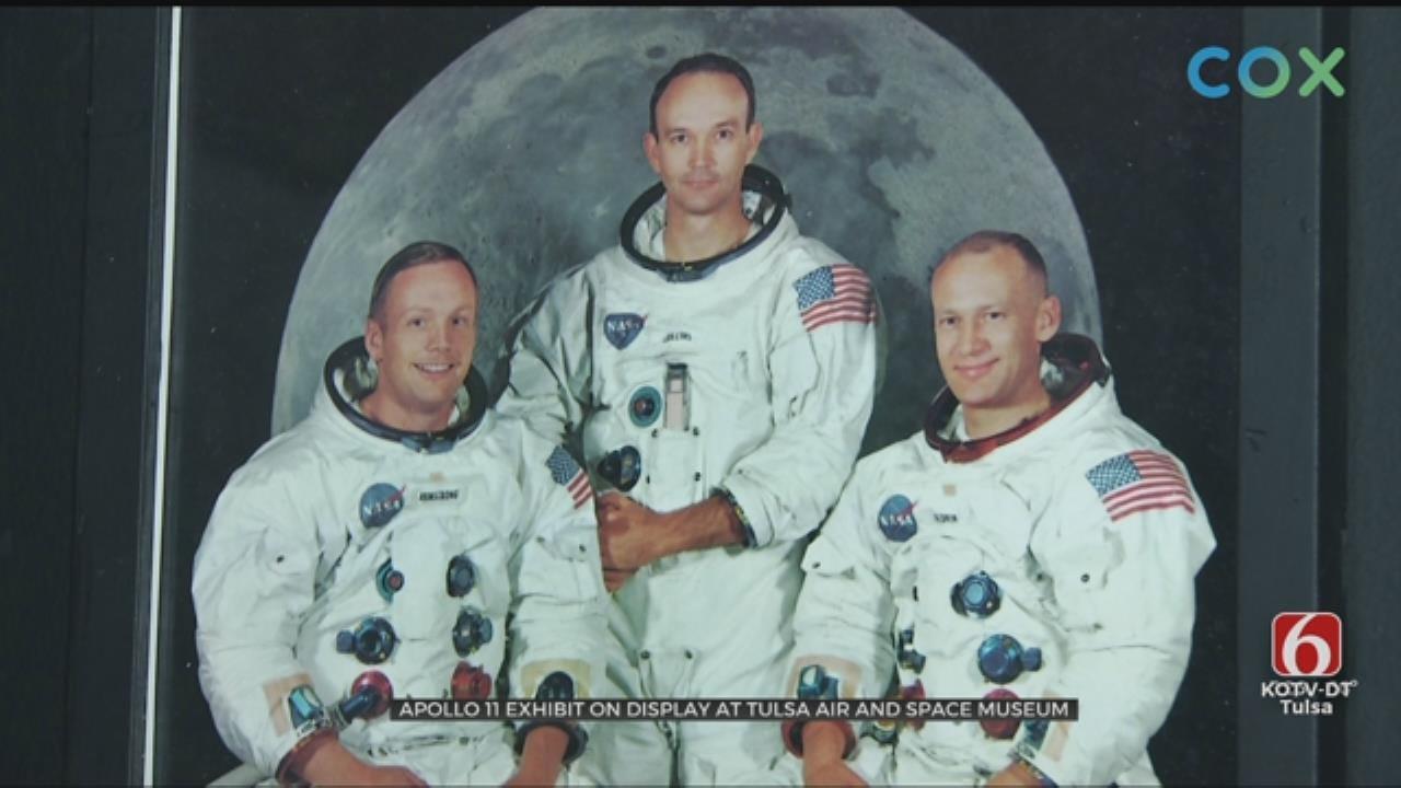 Tulsa Air And Space Museum Showcases Exhibit For Apollo 11 Anniversary