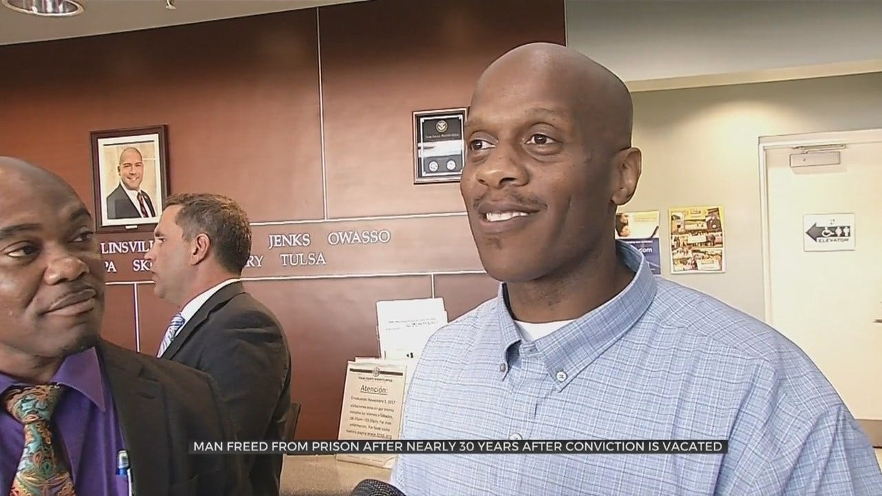 Man Walks Free After Nearly 30 Years Behind Bars