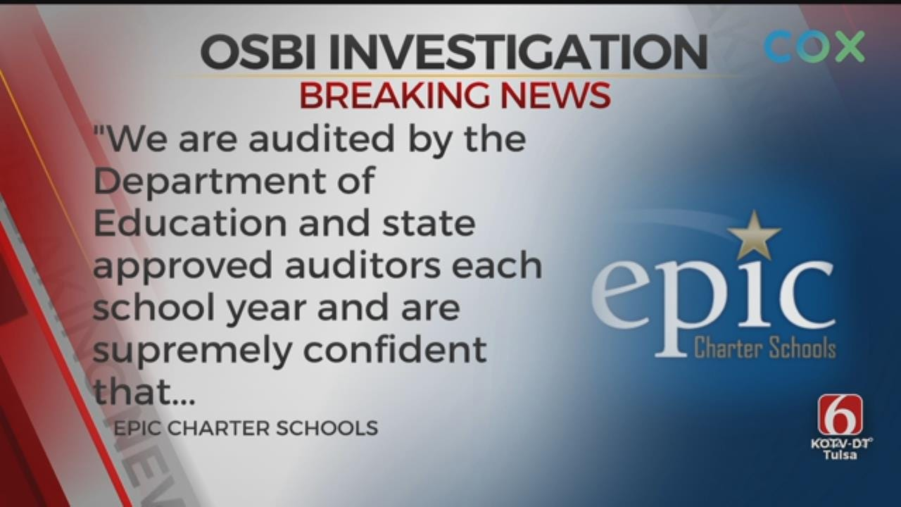 OSBI Serves Search Warrant On Epic Charter Schools In NW OKC