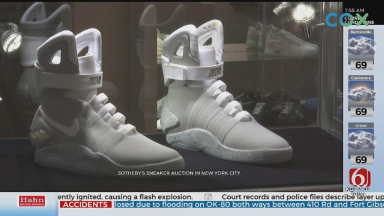 Large Shoe Auction Headed To New York