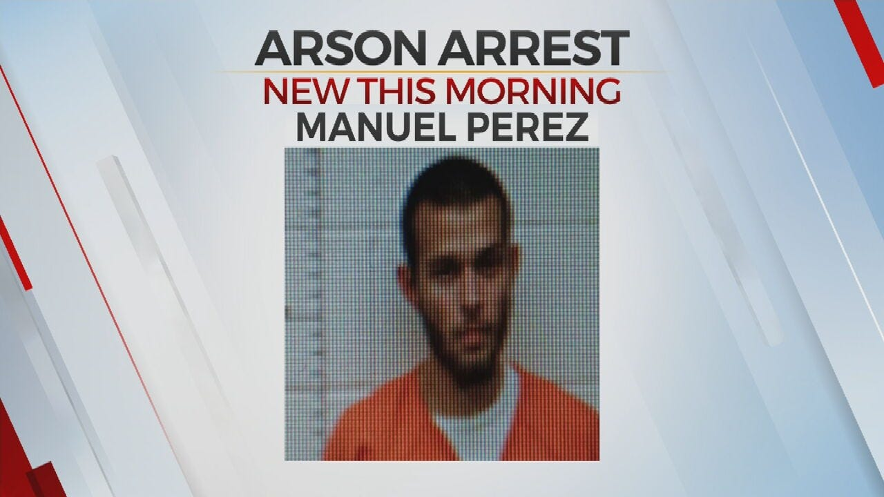 Police: Man Accused Of Arson Arrested In Hughes County