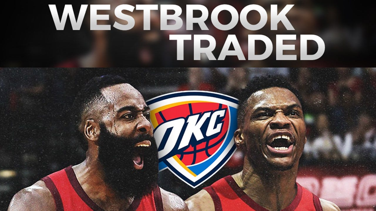 Russell Westbrook Traded To Houston Rockets; Chris Paul Headed To OKC