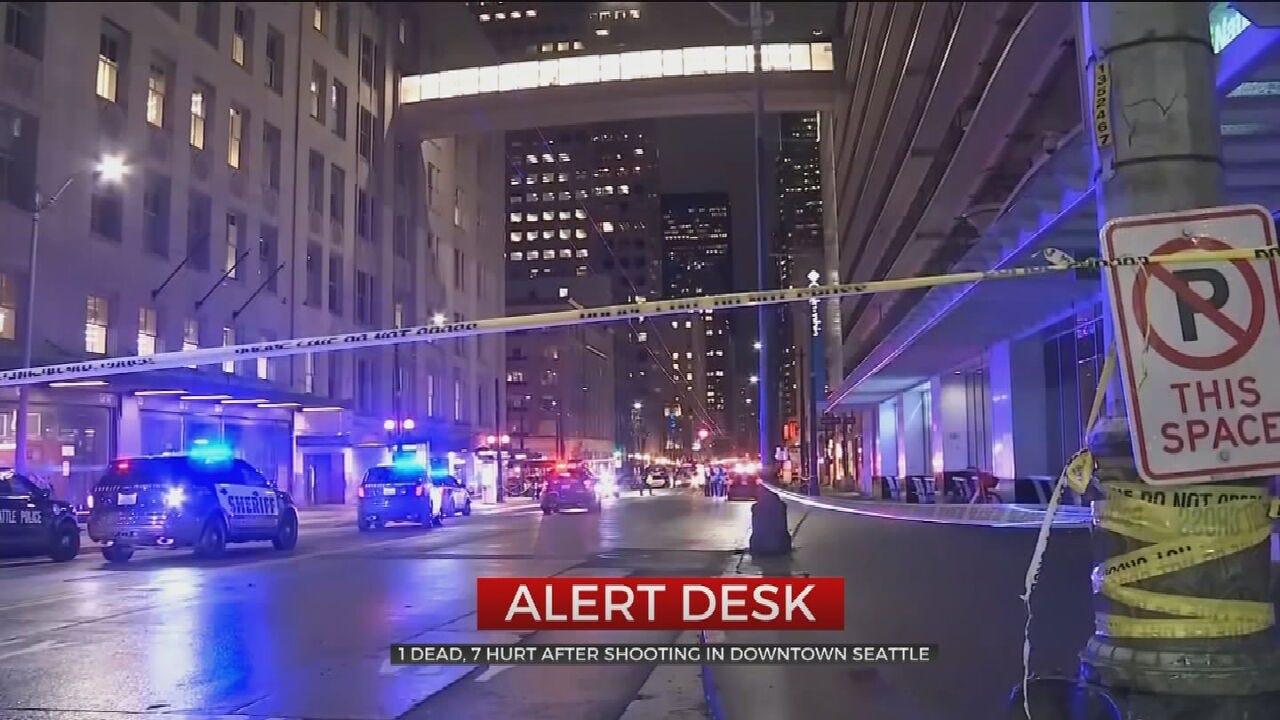 Police: 6 People Shot, 1 Dead In Downtown Seattle