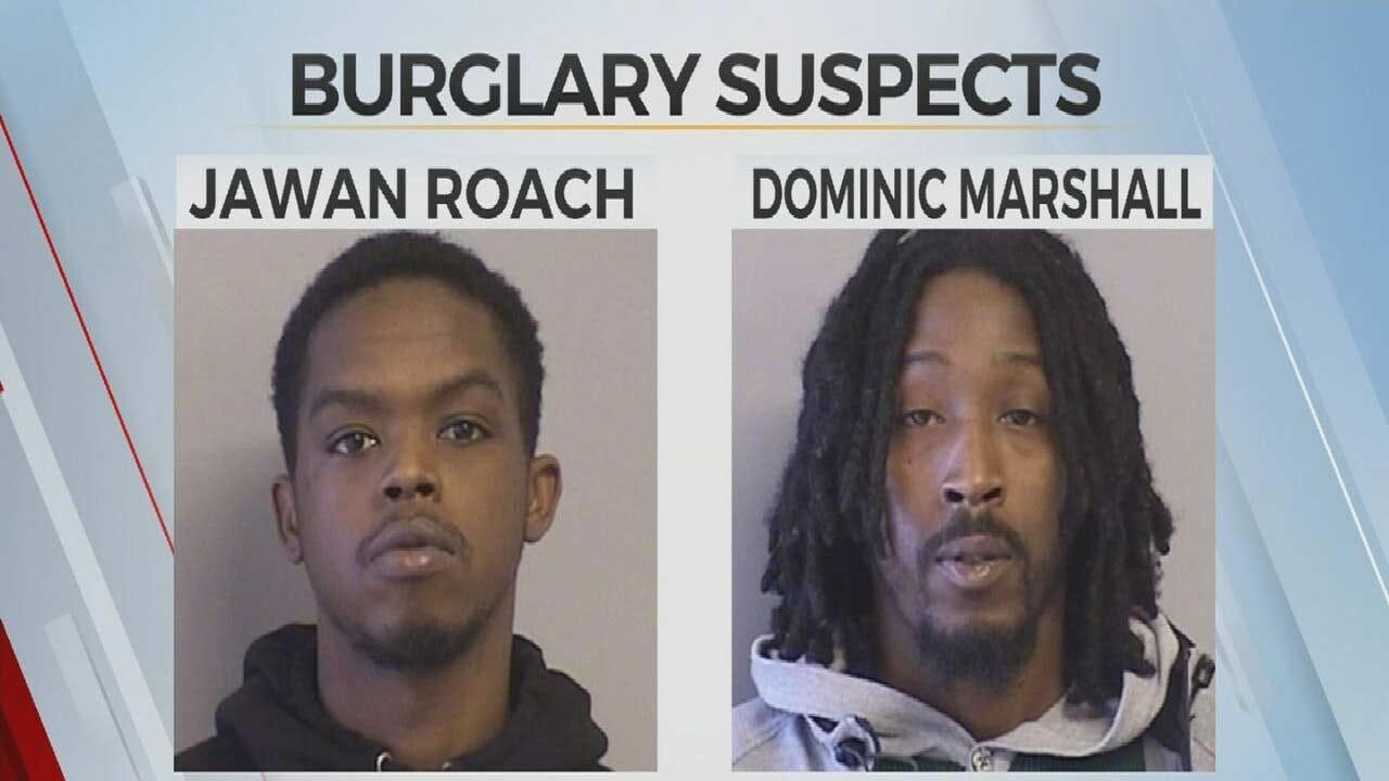 2 Arrested After Multiple Business Burglaries