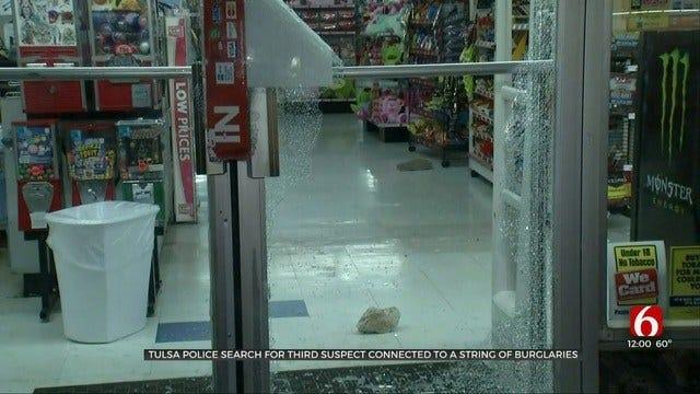 Tulsa Police: 2 Arrested After Multiple Business Burglaries