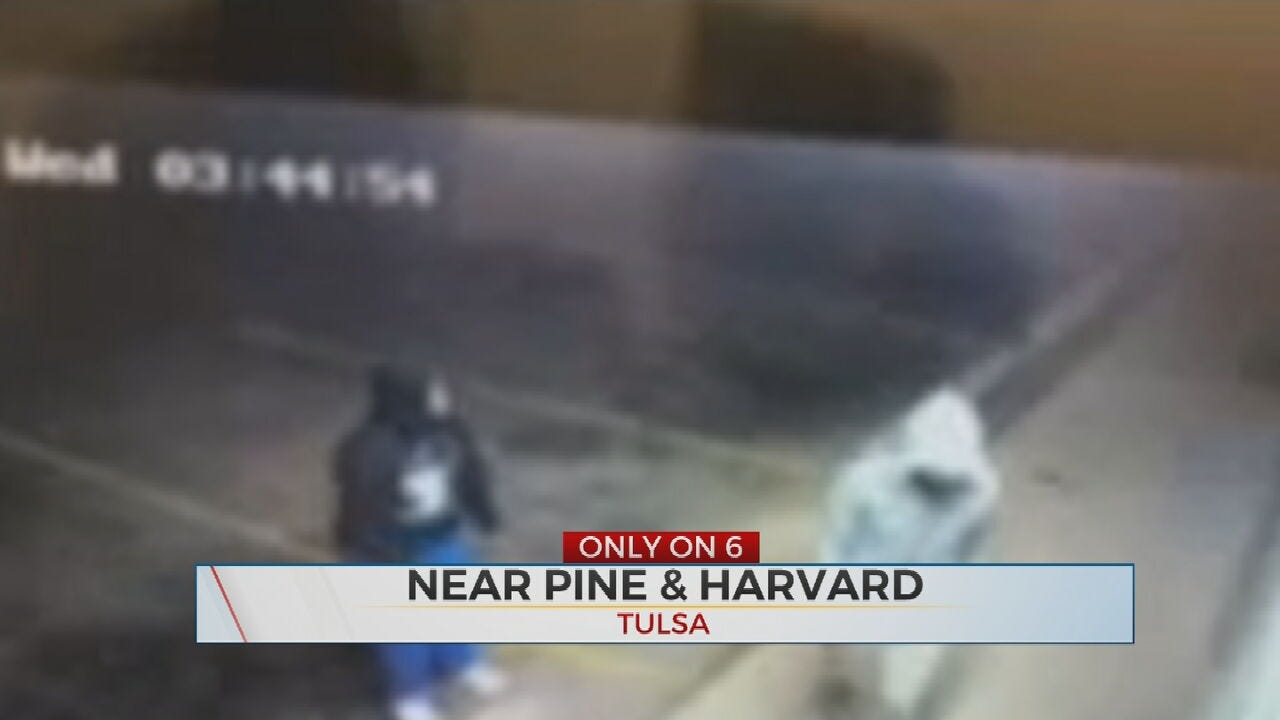 WATCH: 2 Arrested After Multiple Business Burglaries, Tulsa Police Say