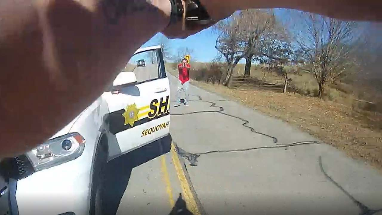 Dramatic Video Shows Deputies In Shootout With Sequoyah County Suspect