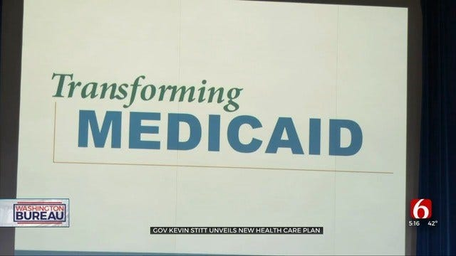 Oklahoma Governor Announces 'SoonerCare 2.0' Medicaid Expansion Plan