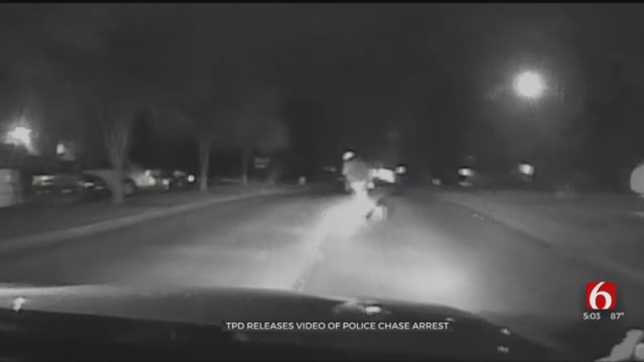 Tulsa Police Release Hectic Video Of Stolen Truck Chase