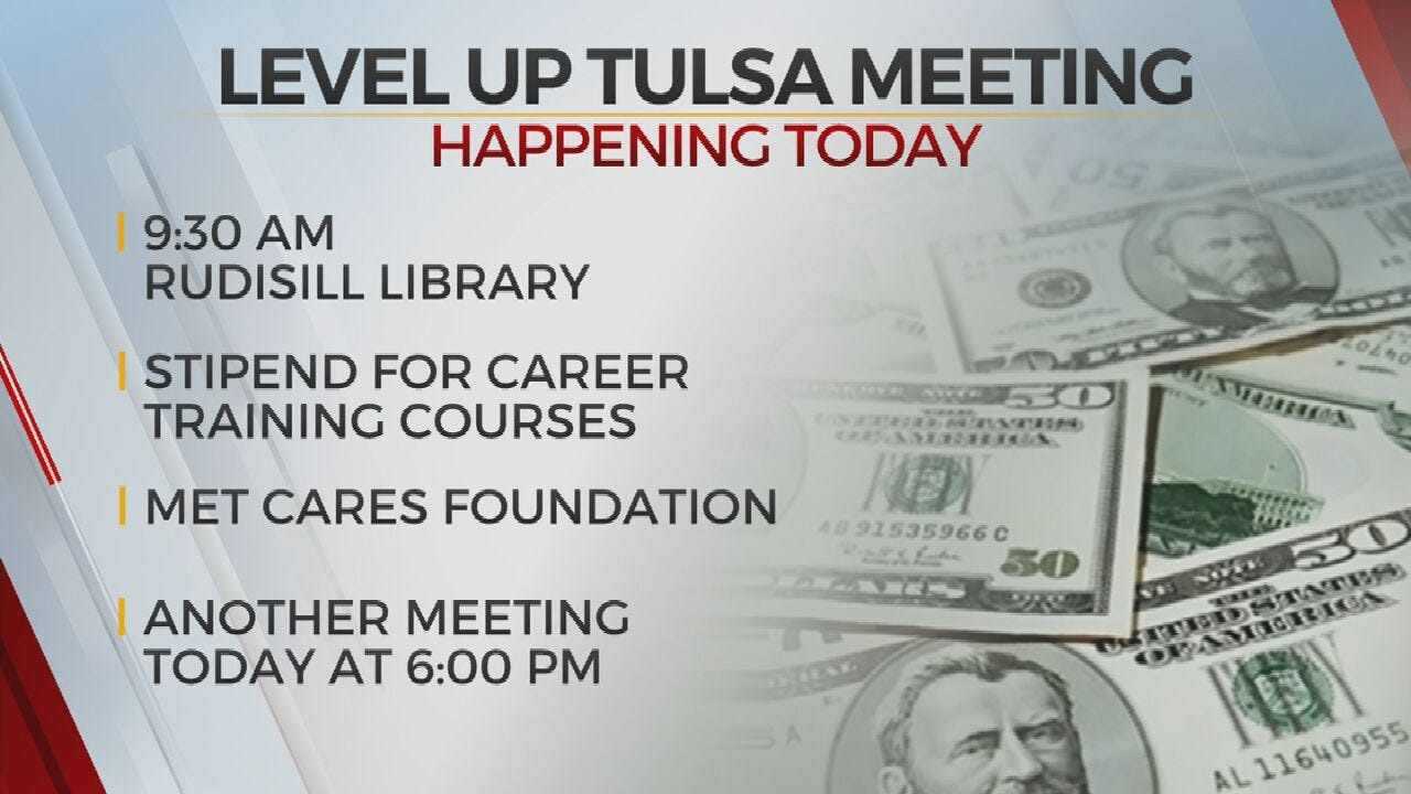 New Initiative Aims To Help Tulsans Level Up their Careers