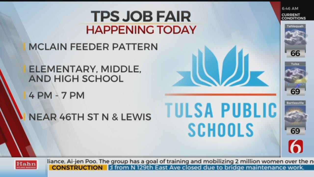 Tulsa Public Schools Hold Job Fair