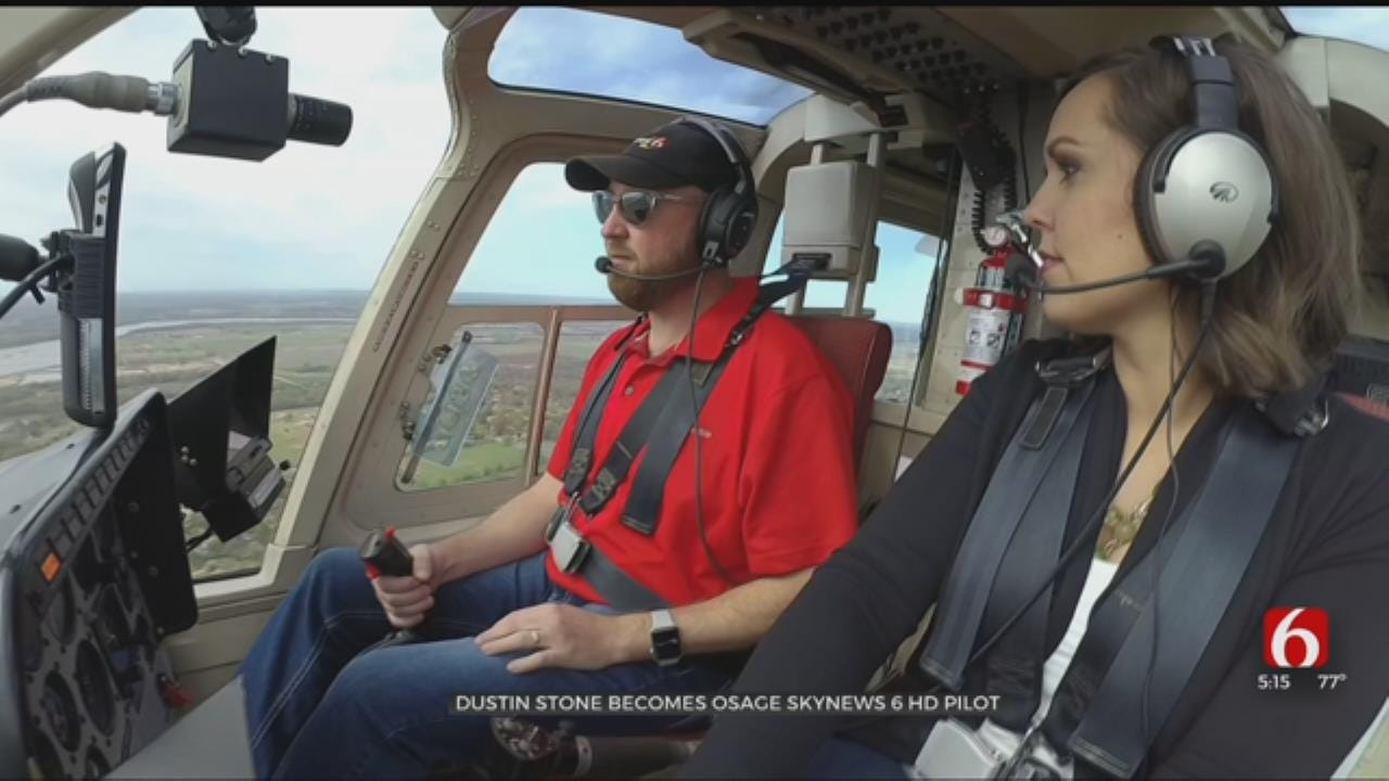 News On 6 Welcomes New Osage SkyNews 6 Pilot Dustin Stone